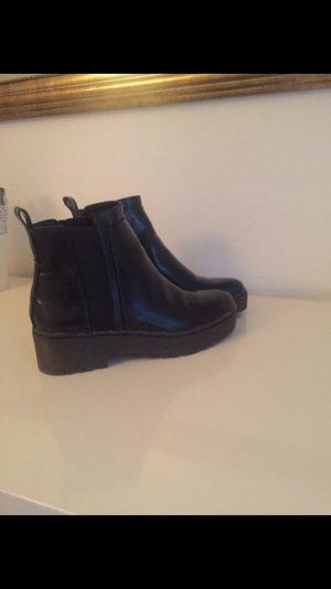 Booties Zara schwarz