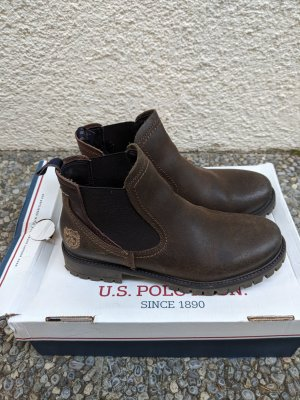 U.s. polo assn. Ankle Boots dark brown