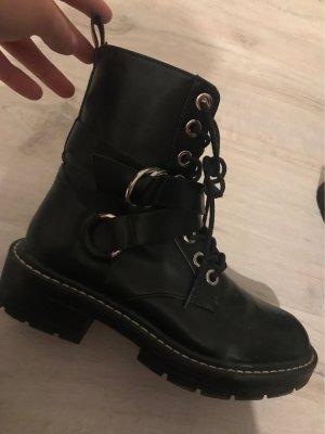Pull & Bear Chelsea laarzen zwart