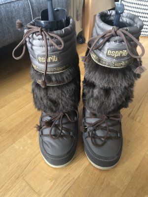 Esprit Snow Boots taupe