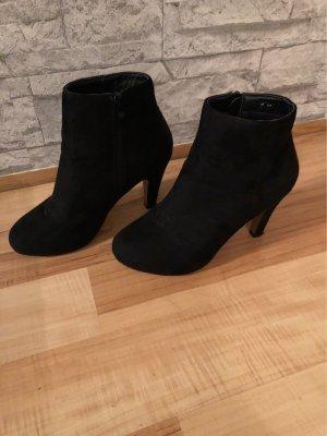 Belle Women Botas de tobillo negro