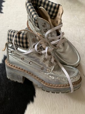 Desert Boots silver-colored