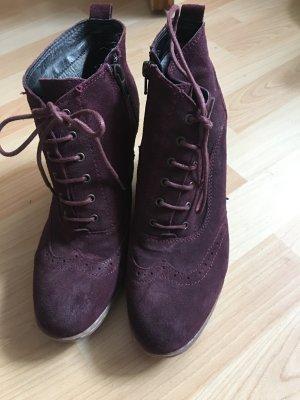 Boots 5th Avenue Gr 40 lila neuwertig