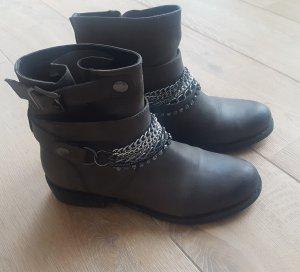 Jette Joop Boots grey brown