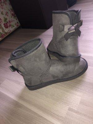 Polarbear Fur Boots grey-light grey