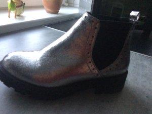 Chelsea Boot argenté-noir