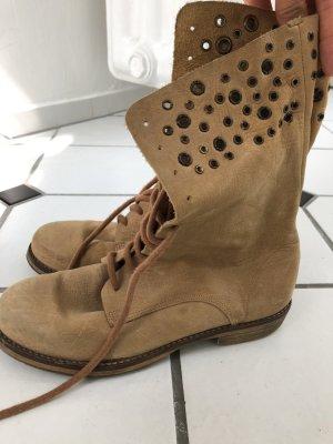 Jonak Botas marrón arena Cuero