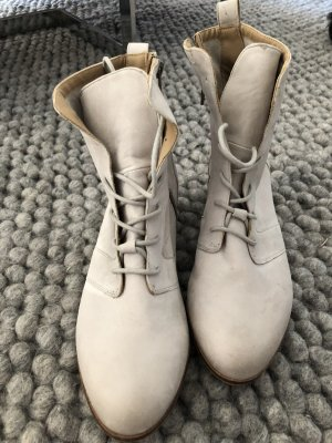 Botte beige clair-gris clair
