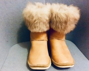 Boots, beige