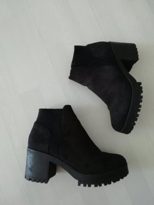 Boots Booties Ankles Stiefelette Plateau Profil
