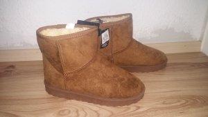Boots booties braun 38 NEU