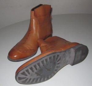 Boots Budapester Schuhe neu Leder Gr. 37
