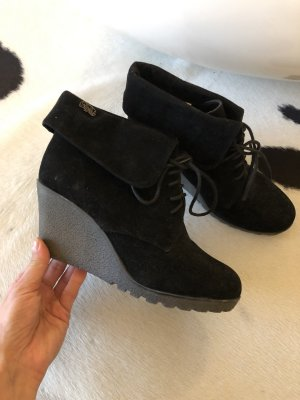 Boots Chelsea Boots Buffalo London 38 Stiefeletten Keilabsatz Schuhe Mode Blogger