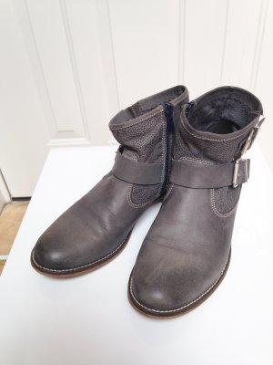 Boots Chelseaboots Ankleboots Stiefeletten Leder fast neu
