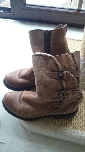 boots der marke MANAS WEICHES LEDER