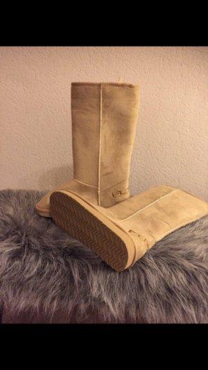Snow Boots beige