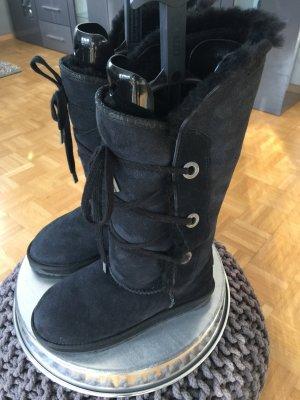 Boots Emu 38 Lammfell schwarz