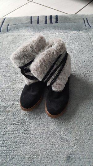 Boots black-light grey