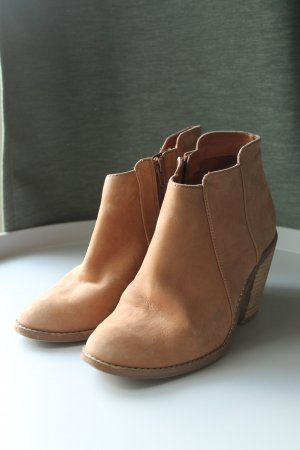 Aldo Ankle Boots beige leather