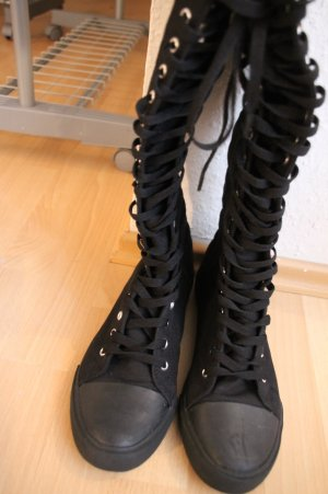 Schoenen zwart Katoen
