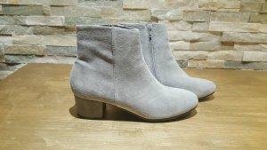 boots Hallhuber Gr 40 grau wildleder