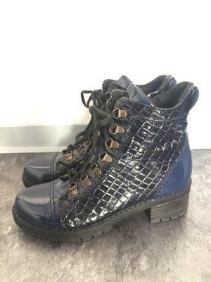 Boots dark blue-blue