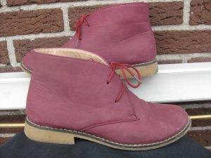 Boots in bordeauxrot  Größe 40