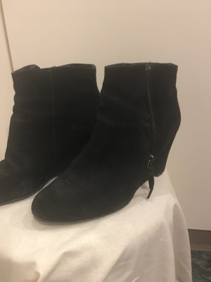 5th Avenue Ankle Boots black suede