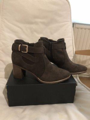 Boots khakifarben/braun