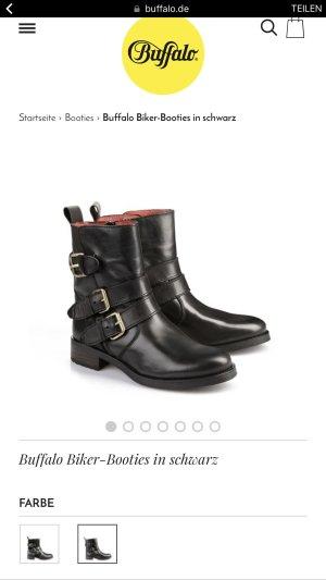 Boots Leder Buffalo wie neu