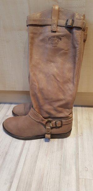 Boots Leder - Stiefel Hilfiger Denim