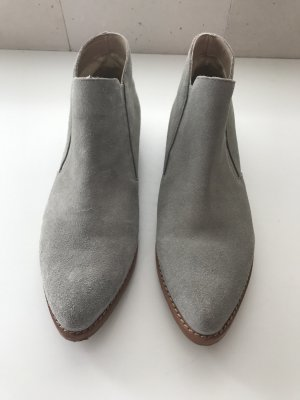 Boots / Loafer aus Wildleder
