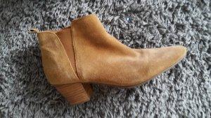 Mango Short Boots camel