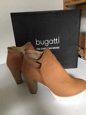 Bugatti Slip-on Booties light brown-sand brown