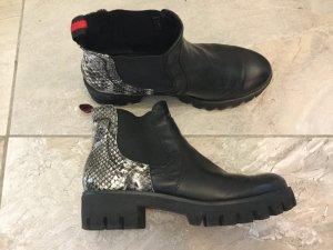 Tamaris Booties multicolored imitation leather