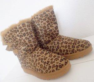 Boots mit Animalprint Größe 40 neu