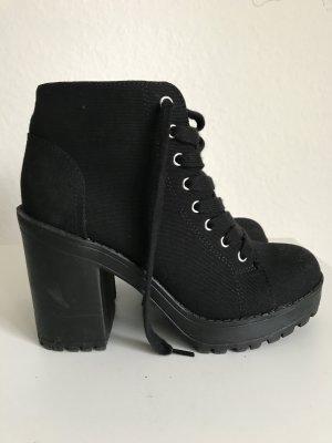 Boots mit Blockabsatz Gr39