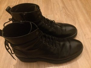 Boots mit Plateausohle