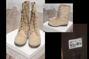 Boots, Neu Gr. 39, Beige