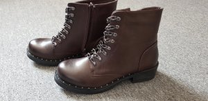 Boots multicolored imitation leather
