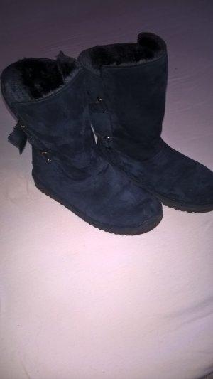 Yamamay Chelsea laarzen donkerblauw Imitatie leer
