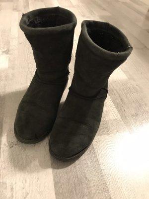 Paul Green Botas de nieve negro