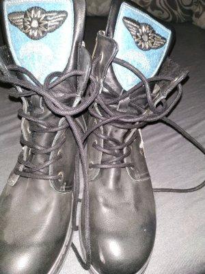 Replay Desert Boots black-azure