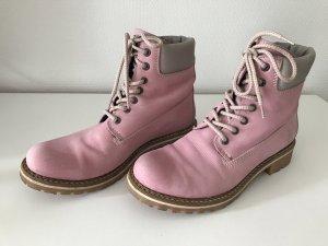 Boots, rosa-graufarben