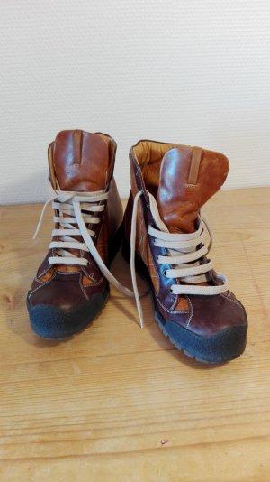 Boots,Schnürstiefel, Leder, 36, Neu, Nur noch bis ende April!!