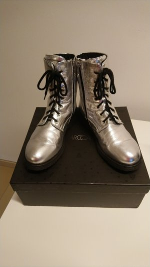 Boots silber, Gr. 40 Marc Cain