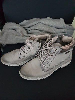 Tamaris Botas de nieve color plata-gris