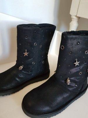 Café Noir Snow Boots black