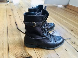 Pesaro Lace-up Boots dark brown