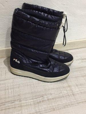Boots/Stiefel FILA dunkelblau-glänzend Gr.39/40